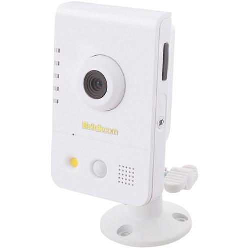 Brickcom CB-101Ap Compact Cube Network Camera with 2-Way Audio, PoE, & 2.8mm Lens