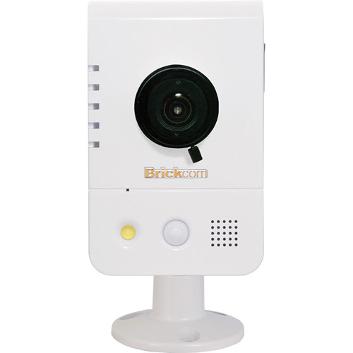Brickcom CB-300A Series 3MP Full HD Indoor Compact Cube Network Camera with PoE, 2-Way Audio, & 4.05mm Fixed Lens