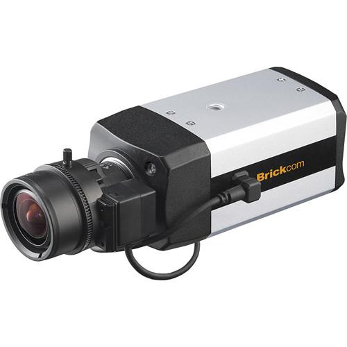 Brickcom FB-200Np V5 2MP Full HD Indoor Fixed Box Network Camera and 5-50mm f/1.6 DC Auto Iris Lens