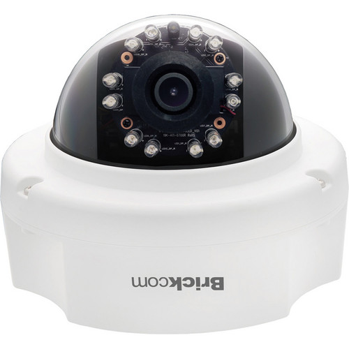 Brickcom FD-131AF 1.3MP HD Indoor Fixed Dome IR Network Camera with PoE & 4mm Lens