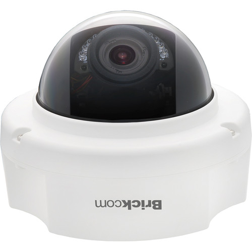 Brickcom FD-200Np 2MP Day/Night IR Full HD Fixed Dome Network Camera with SmartFocus, PoE, & 3 to 10.5mm Motorized Lens