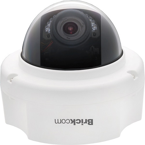 Brickcom FD-202Np 2MP Day/Night IR Full HD Fixed Dome Network Camera with FocusEasy, PoE, & 3.3 to 10.5mm Varifocal Lens