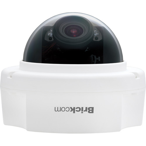Brickcom FD-300Ap 3MP Day/Night IR Full HD Fixed Dome Network Camera with SmartFocus, PoE & 3.3 to 10.5mm Varifocal Lens