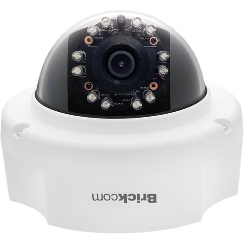 Brickcom FD-301AF 3MP Full HD Indoor Dome IR Network Camera with PoE & 4mm Lens
