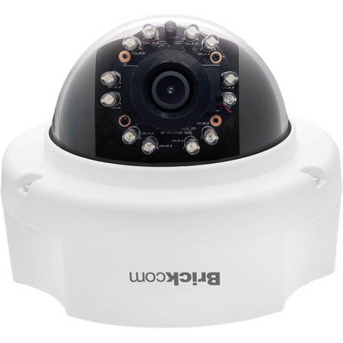 Brickcom FD-301AF 3MP Full HD Indoor Dome IR Network Camera with PoE & 4mm Lens