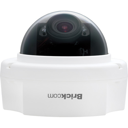 Brickcom FD-302Ap 3MP Day/Night IR Full HD Fixed Dome Network Camera with PoE & 3.3 to 10.5mm Varifocal Lens