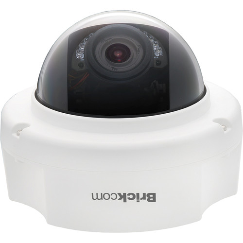 Brickcom FD-302Np 3MP Day/Night IR Full HD Fixed Dome Network Camera with FocusEasy, PoE, & 3.3 to 10.5mm Varifocal Lens