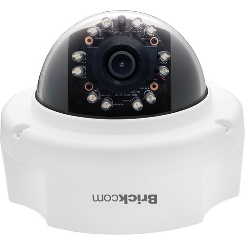 Brickcom FD-501AF 5MP Full HD Indoor Fixed Dome IR Network Camera with PoE & 4mm Lens