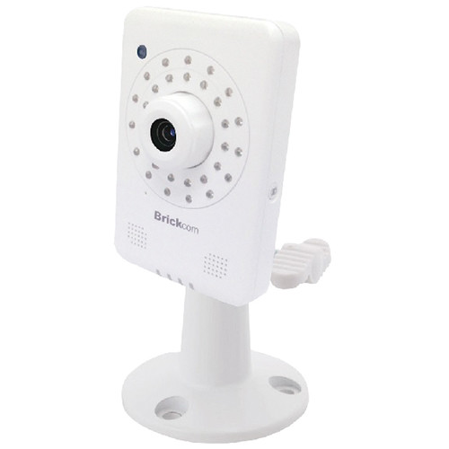 Brickcom MB-130Ap 1.3MP IR Day/Night HD Mini Box Network Camera with PoE, 2-Way Audio, & 4mm Lens