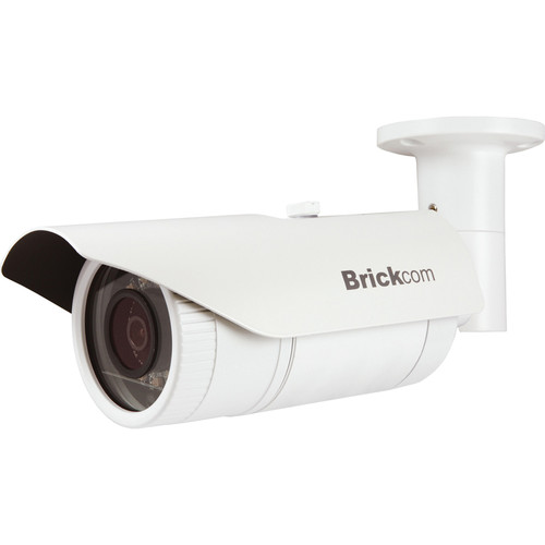 Brickcom OB-500Af-V5 5MP Outdoor Day/Night IR Bullet Network Camera with 4mm Fixed Lens