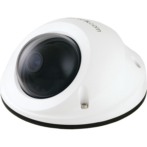 Brickcom VD-500AF 5MP Full HD Outdoor Vandal Dome Network Camera with PoE & 4mm Lens