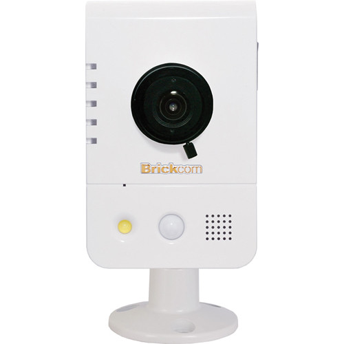 Brickcom WCB-200AP 2MP Full HD Indoor Compact Cube Network Camera with Wi-Fi, 2-Way Audio, & 2.8mm Fixed Lens