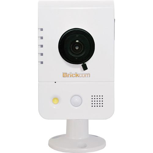 Brickcom WCB-200AP 2MP Full HD Indoor Compact Cube Network Camera with Wi-Fi, 2-Way Audio, & 2.8mm Fixed Lens
