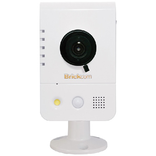 Brickcom CB-500A Series 5MP Full HD Indoor Compact Cube Network Camera with Wi-Fi, 2-Way Audio, & 4.05mm Fixed Lens