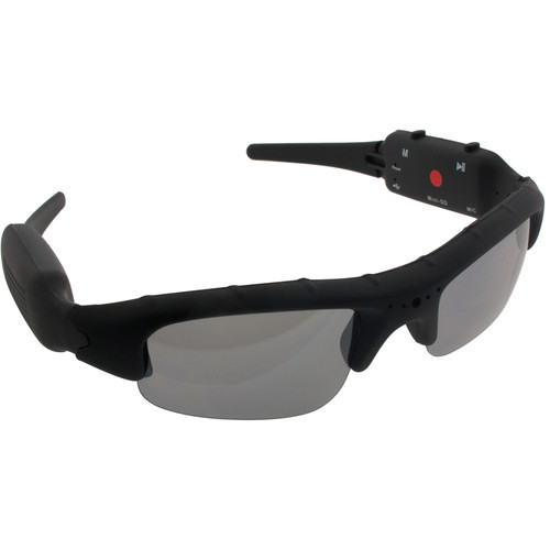 BrickHouse Security SpyShades Hidden Camera Sunglasses