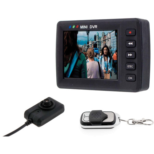 BrickHouse Security AngelEye Button Mini Camera with DVR