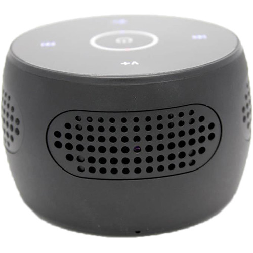 BrickHouse Security Bluetooth Speaker with 1080p Wi-Fi Covert Camera