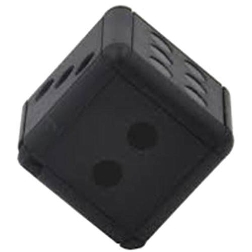 BrickHouse Security Miniature Dice with 1080p Covert Camera (Black)