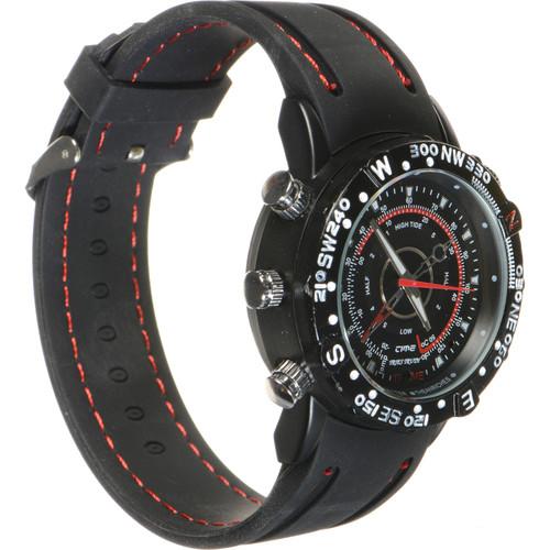 BrickHouse Security HD Waterproof Spy Watch (Black)