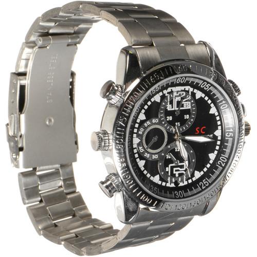 BrickHouse Security HD Waterproof Spy Watch (Silver)