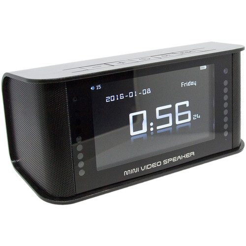 BrickHouse Security SleekVu 2.0 Clock with 1080p Covert Night Vision Camera