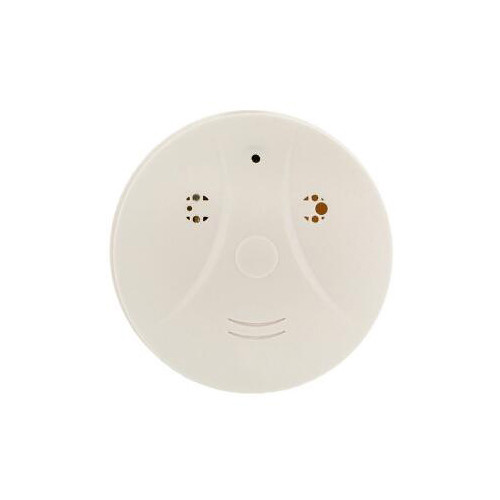 BrickHouse Security Smoke Detector with Covert 1080p Wi-Fi Camera