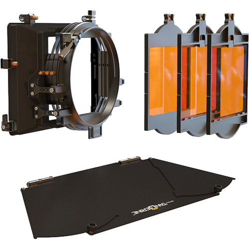 "Bright Tangerine Viv 5"" Matte Box Kit 2"