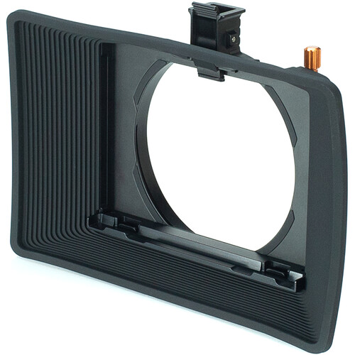 Bright Tangerine Misfit Atom Clamp-On Matte Box with Anti Reflective Tilt Bracket