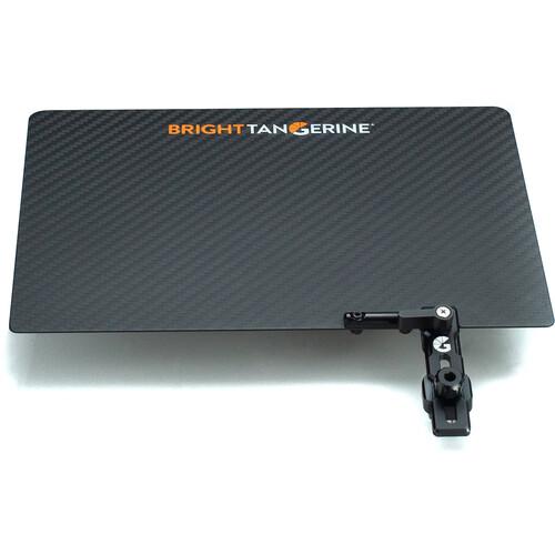 Bright Tangerine Carbon Fiber Top Flag for Misfit Atom Matte Box