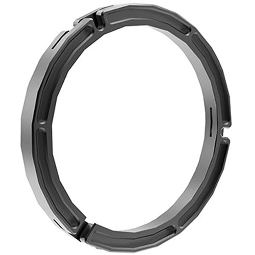 Bright Tangerine 162 to 136mm Clamp-On Ring for Blacklight Matte Box