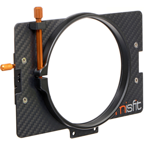 Bright Tangerine 114mm Clamp Lens Attachment for Misfit Matte Box