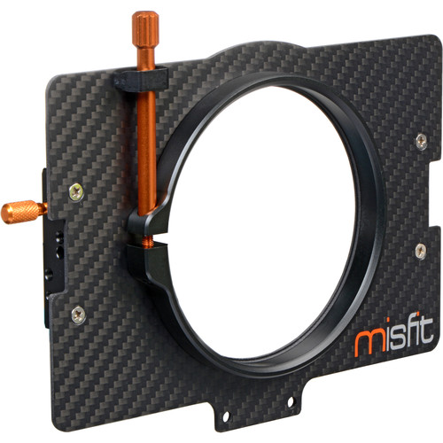 Bright Tangerine 95mm Clamp Lens Attachment for Misfit Matte Box