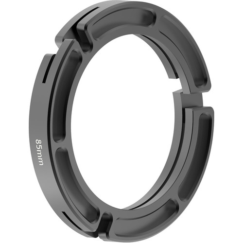 Bright Tangerine 114 to 85mm Clamp-On Ring for Misfit Matte Box