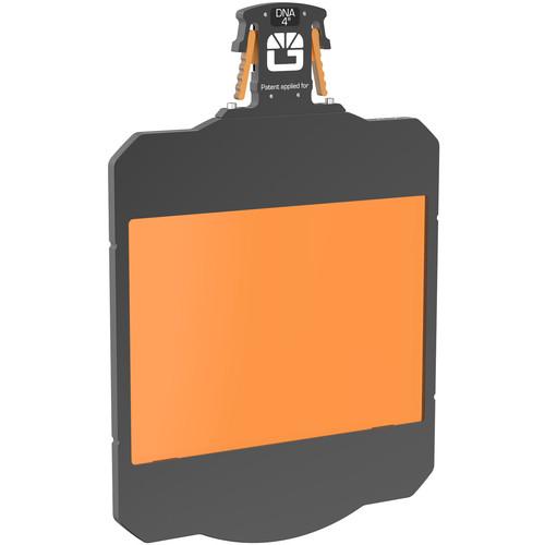 "Bright Tangerine 4 x 5.65"" Gripper Filter Tray for Strummer DNA Matte Box"