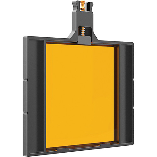 "Bright Tangerine 4x4"" Filter Tray for Viv"