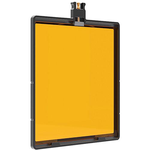 """Bright Tangerine 6.6x6.6"""" Filter Tray for Blacklight"""