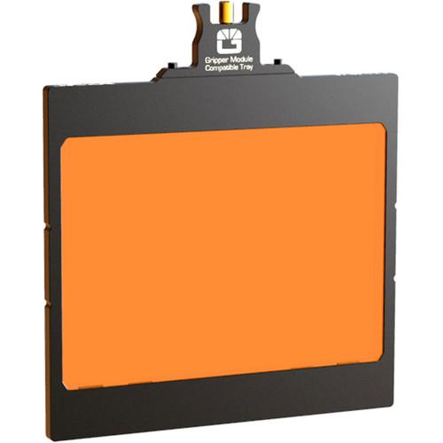 "Bright Tangerine 4 x 5.65"" Filter Tray for VIV 5"" Matte Box"