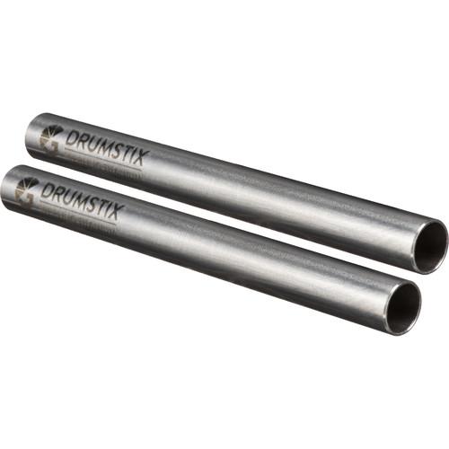 "Bright Tangerine Drumstix 15mm Sterling Titanium Support Rods (6"", Pair)"