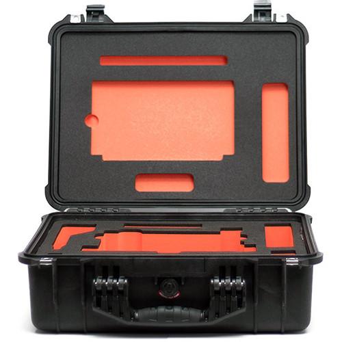 Bright Tangerine Pelican 1520 Case with Custom-Cut Foam for Misfit Matte Box