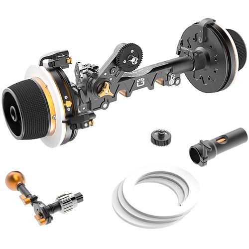 Bright Tangerine Revolvr Dual-Sided Lightweight Follow Focus Kit