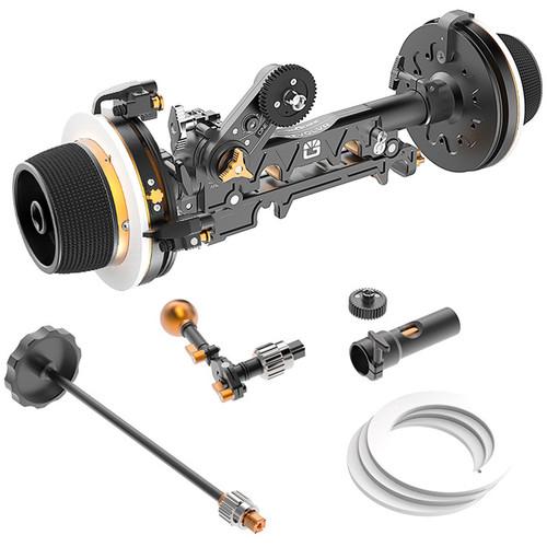 Bright Tangerine Revolvr Dual-Sided 15mm Studio Follow Focus Kit
