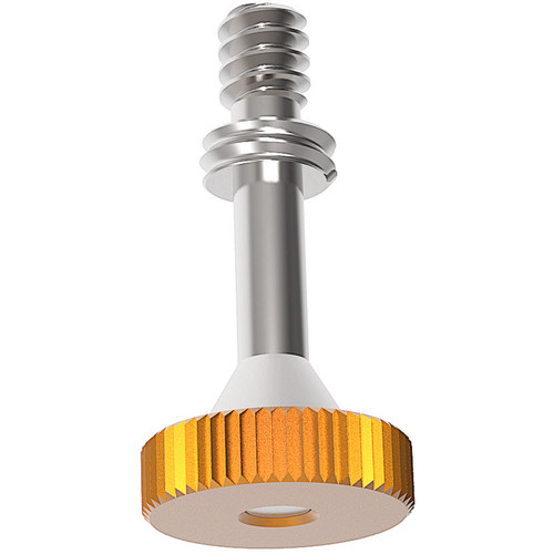 """Bright Tangerine 1/4""""-20 Support Screw for Joyce 15mm & Marr 19mm Studio Lens Supports"""