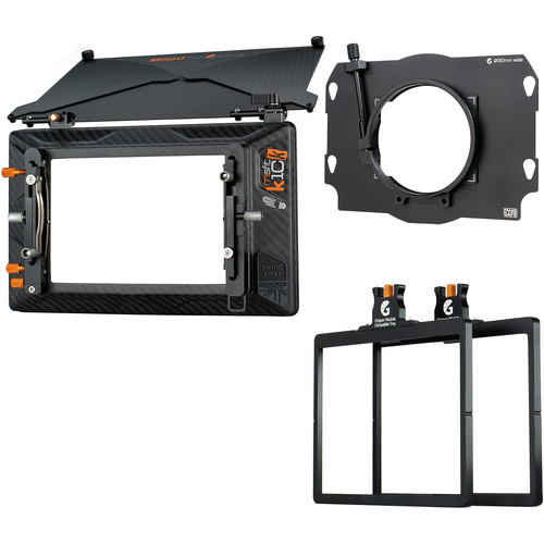 Bright Tangerine Misfit Kick 2-Stage Matte Box 80mm Clamp-On Kit