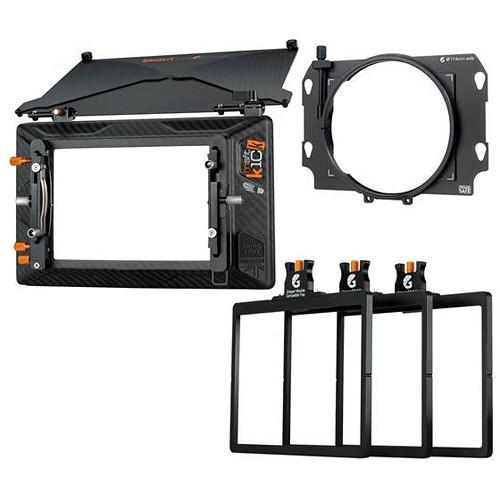 Bright Tangerine Misfit Kick 3-Stage Matte Box 114mm Clamp-On Kit