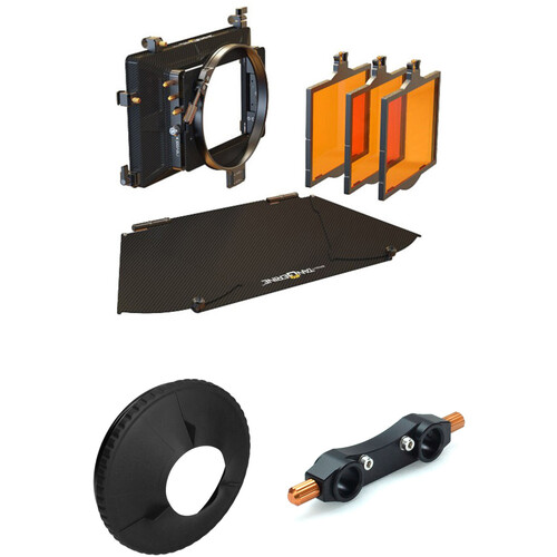 Bright Tangerine Misfit Matte Box with 143mm Black Hole Donut Kit