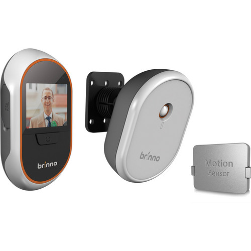 Brinno PVH133012 Digital Peephole Viewer/Camera & MAS100 Motion Sensor Kit