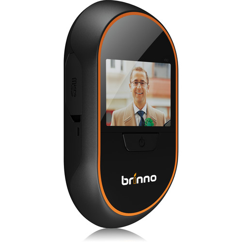Brinno PHV MAC 1.3MP Peephole Camera, DVR and Display