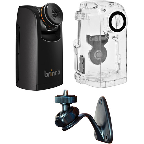 Brinno TLC200 Pro HDR Time Lapse Camera Kit with Weather-Resistant Housing and Wall Mount