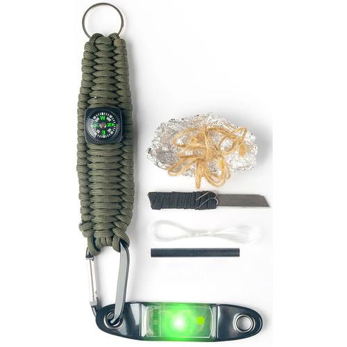 Brite-Strike Ultimate Survival Key Fob (Green)