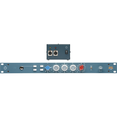 BAE 1023 3-Band EQ, with Power Supply, Rackmount